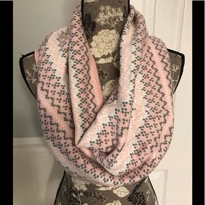 Pink Infinity Scarf 🧣